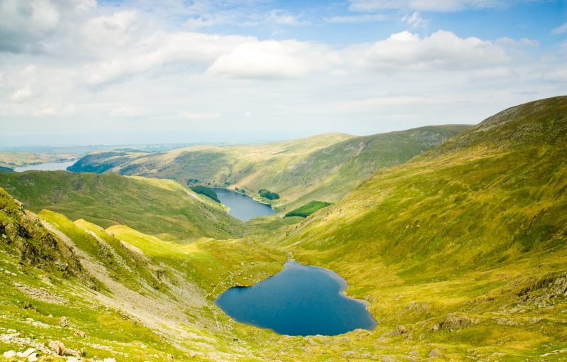 Haweswater Lake District National Park Cumbria